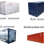 Một số loại container vận tải